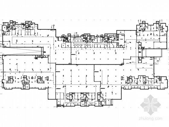 [吉林]二类商住楼水暖消防施工图