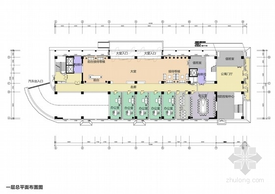 [内蒙]新颖气派现代简约综合楼室内设计方案