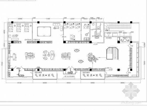 [河南]时尚服装品牌高档现代生活馆室内设计方案