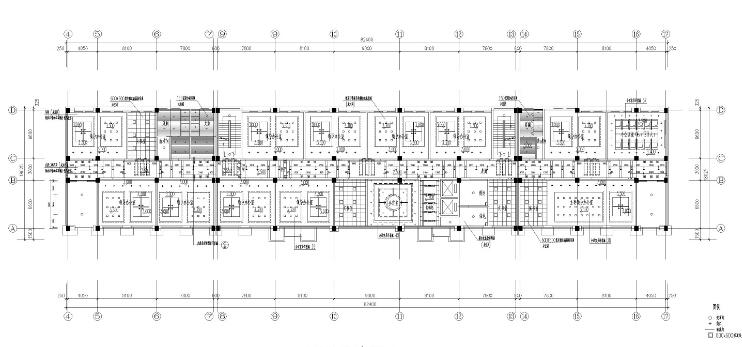 [湖北]现代简约青春活力办公楼设计图纸(JPG格式)