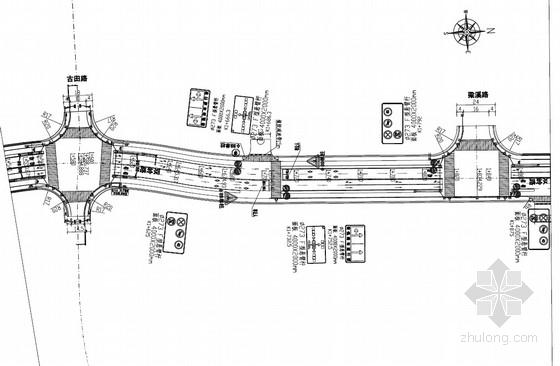 [PDF]城市次干道交通工程设计施工图(39张)
