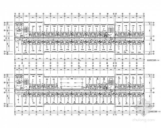 [内蒙古]海关监管办公楼电气全套施工图(甲级院)
