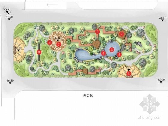 [青岛]住宅间小型公园景观设计方案