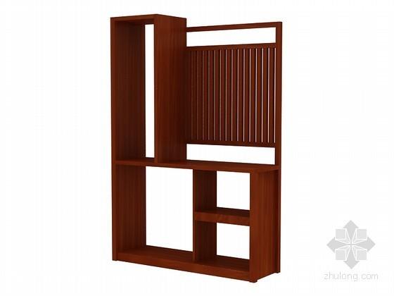 现代中式柜子3D模型下载