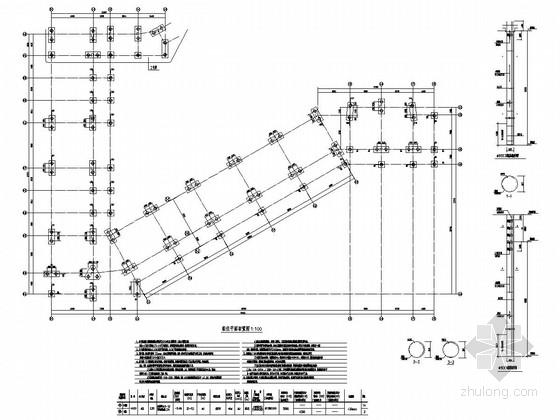 五层框架结构中学实验楼结构施工图