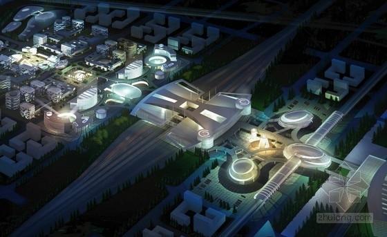 [上海]多功能型综合交通枢纽规划设计方案文本(知名事务所)