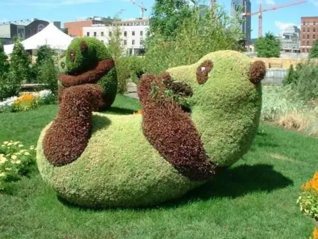 80个极美植物雕塑_35