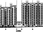 高层塔式框剪结构商住楼建筑图