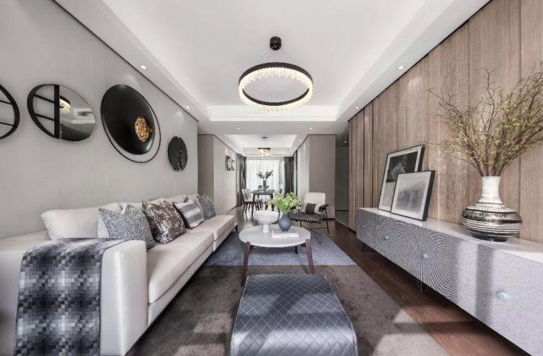 看看这三个样板房,轻奢范儿的家就该这样设计!