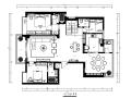 [福建]整套现代风格复式楼设计CAD施工图(含效果图)