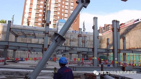 北京市首座钢结构装配式建筑施工管理实践_28