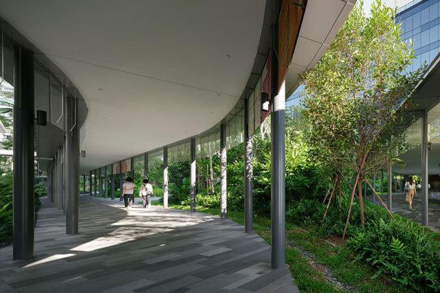 12-新加坡Comtech商业园区景观设计第12张图片