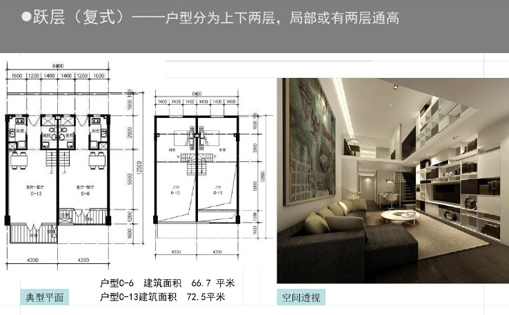 一梯四户小户型公寓平面资料下载-房地产中小户型精细化设计解读(图文丰富)