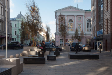 俄罗斯中心街道的改造