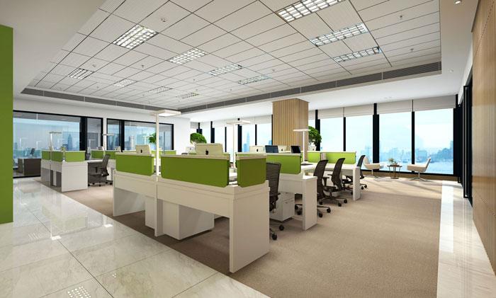 [分享]简约风格办公室装修设计案例效果图