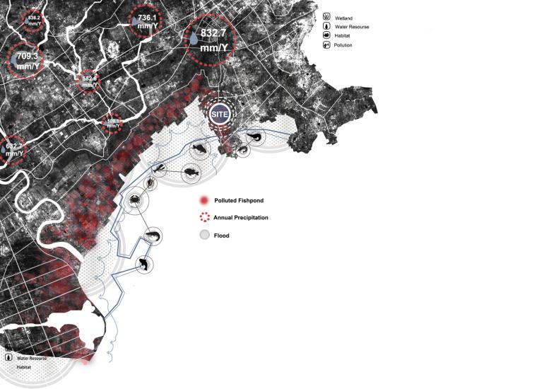 ps分析图第一讲作业:景观区位分析图(此处回帖上传作业)