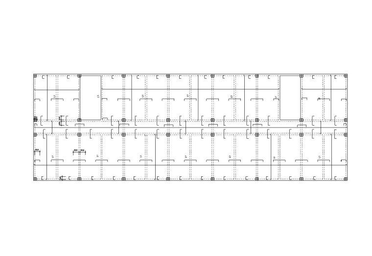 """[六层]""""一""""字形框架结构教学楼毕业设计(计算书、建筑、结构图)"""