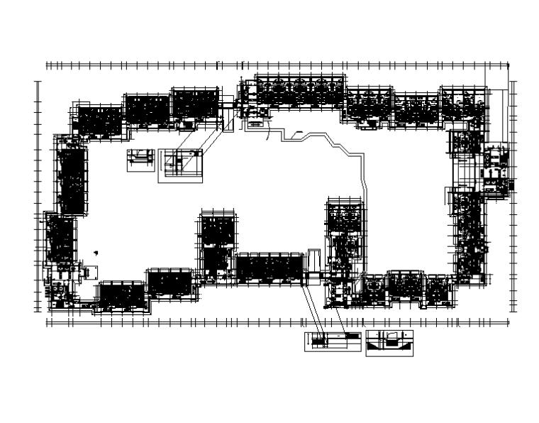 江苏知名地产六星酒店暖通整套施工图(145张)
