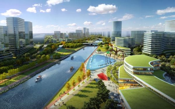 [浙江]滨江河畔生态廊道景观设计方案(2017最新)