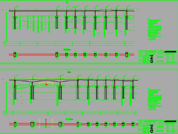 双线无砟轨道铁路区间桥梁设计图275张CAD(简支箱梁、预应力连续箱梁)_1