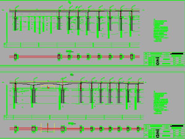 双线无砟轨道铁路区间桥梁设计图275张CAD(简支箱梁、预应力连续箱梁)