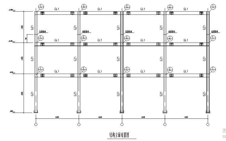 某3层百货大楼设计(2820平,含计算书、建筑图,结构图)_2
