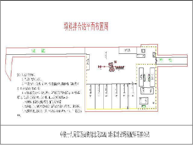 级配碎石WDB600稳定土厂拌和站建设方案47页