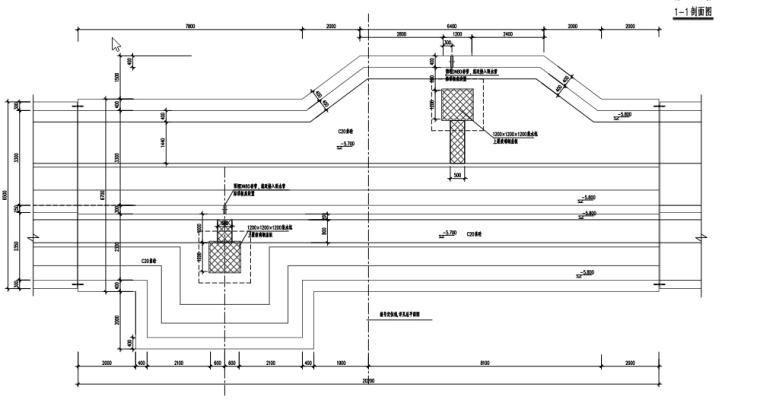 地下综合管廊道路结构设计施工图_1