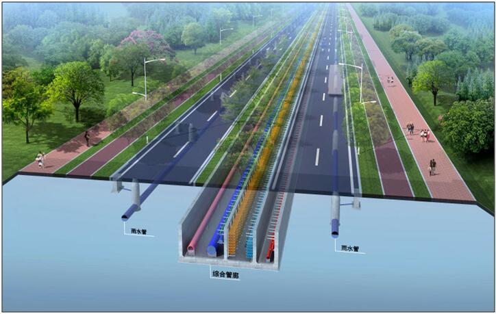 国内外综合管廊发展现状及综合管廊施工方法浅析(157页)
