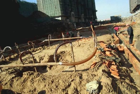 人工冲孔轻型井点在基坑降水工程中的作用