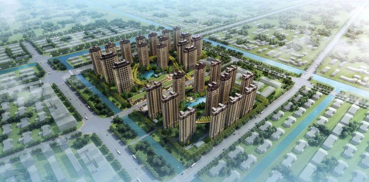 [上海]奉贤南桥新城居住区建筑设计方案文本_4