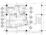 [苏州]简欧风格样板间精装修全套施工图(附效果图)