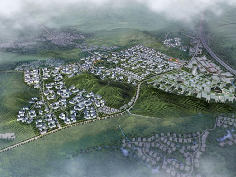 [浙江]杭州龙坞旅游综合体规划建筑方案文本