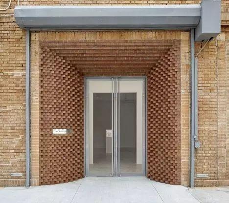 超有设计感的建筑入口_7
