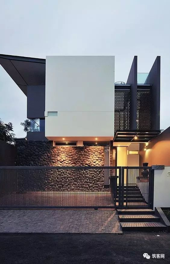 40款·简洁的现代别墅设计_40