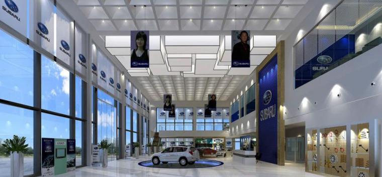 (原创)汽车4S店室内设计案例效果图-汽车4S店 (9)