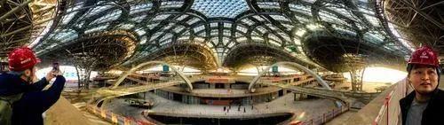 [钢结构·资讯]北京新机场主航站楼封顶封围2019年10月试运行