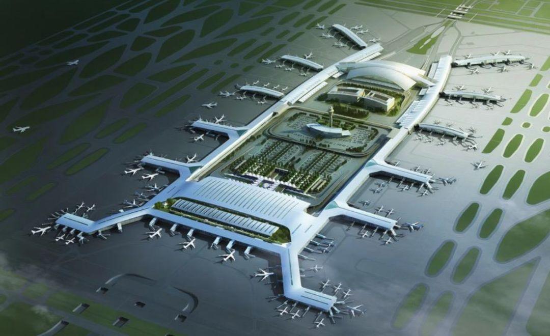漫谈金属屋面的建筑设计应用(1)——广州新白云国际机场航站楼_1