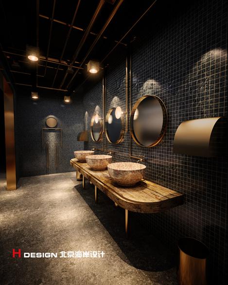 天津塘沽区咖啡厅设计案例_13