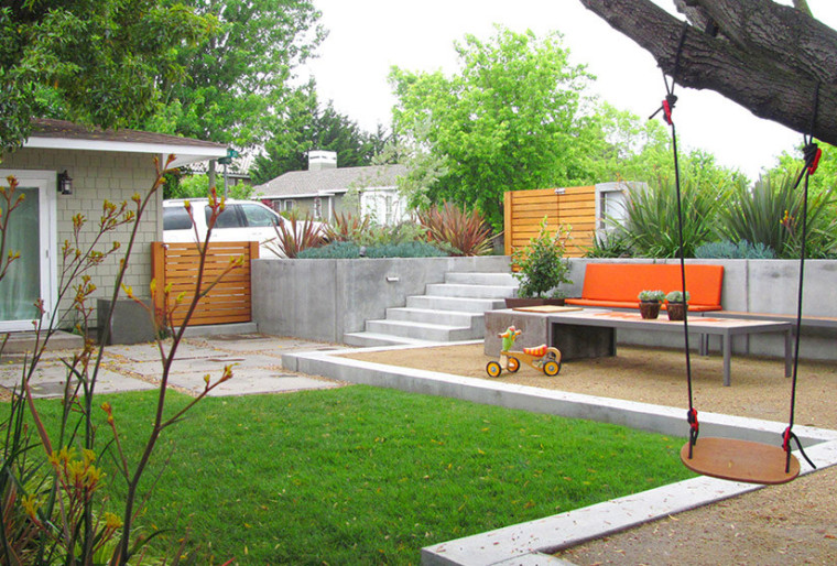 美国住宅儿童花园