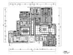 [陕西]200平米风景御园样板房设计施工图(附效果图)