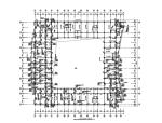 四层框架教学楼结构施工图(CAD、9张)