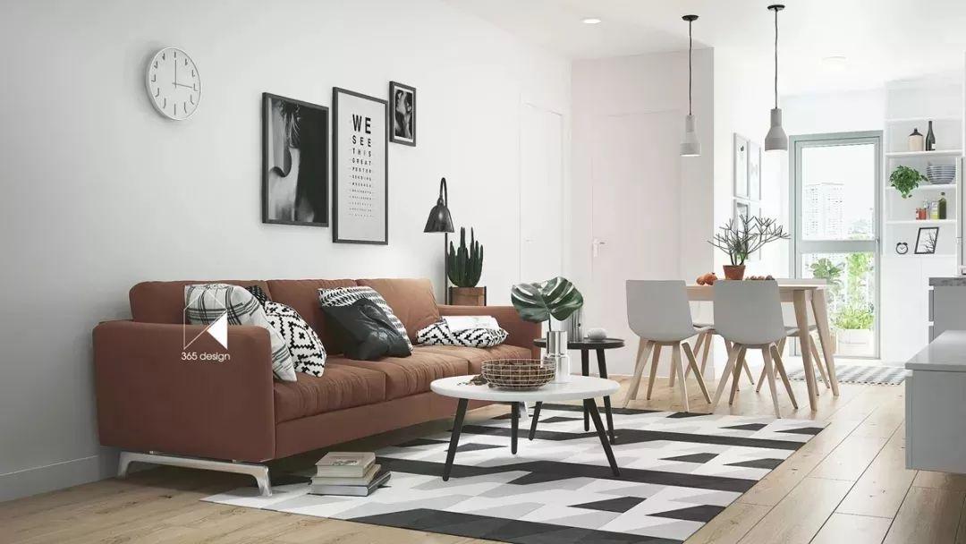 现在客厅都流行这么装,快扔掉你家笨重的大沙发吧!_19