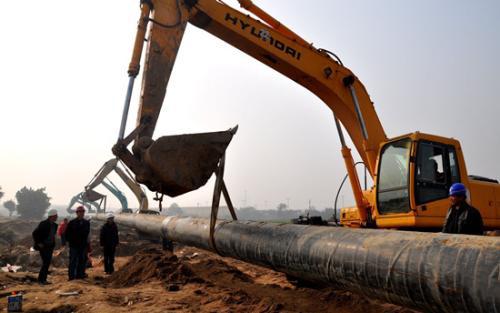 [广东珠海]横山岛联系桥给水管道施工组织方案