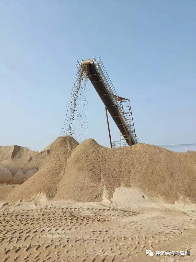 河砂只要65元/吨,超过部分由政府补贴,这里已开始执行
