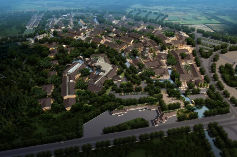 [江西]传统中式风格特色田园农庄小镇建筑设计方案文本