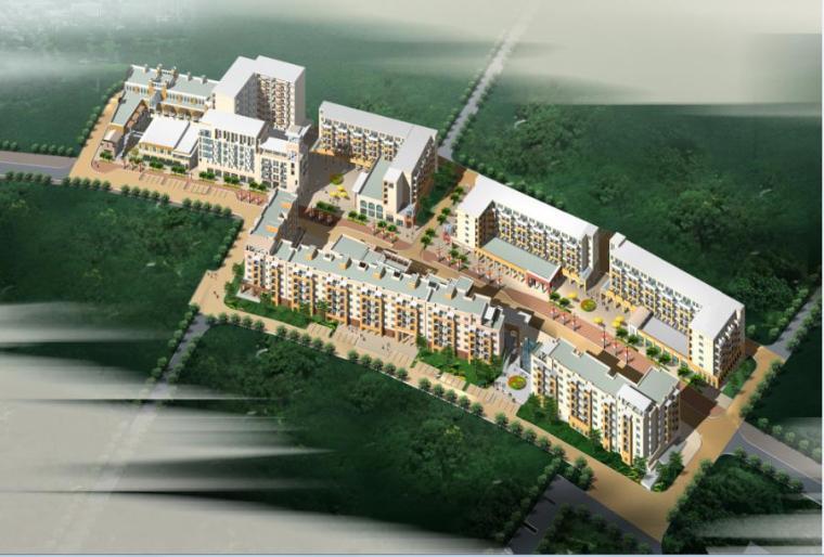 成都万科城市花园建筑方案文本及CAD扩初
