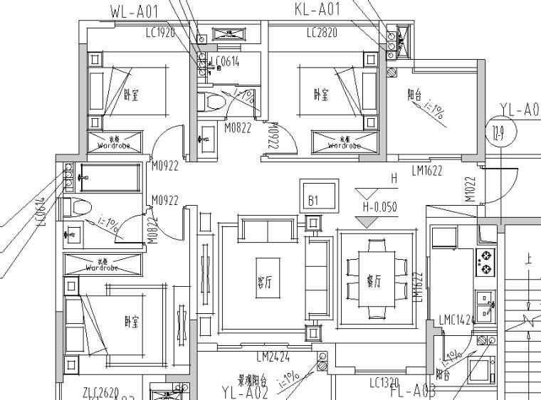 南京高层住宅小区给排水施工图(二期)_2
