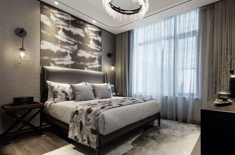质朴材质也能构建空间气质,顶级别墅样板间设计_15