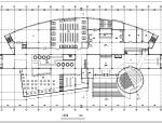 长126米宽47.7米五层学校图书馆设计图(带外观效果)